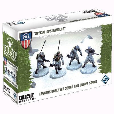 """Dust Tactics: Rangers Observer Squad and Sniper Squad - """"Special Ops Rangers"""""""