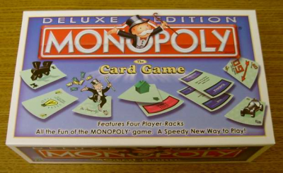 Monopoly: The Card Game Deluxe Edition