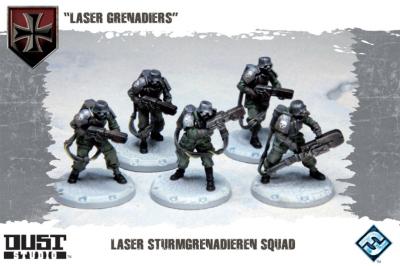 "Dust Tactics: Laser Sturmgrenadiere Squad - ""Laser Grenadiers"""