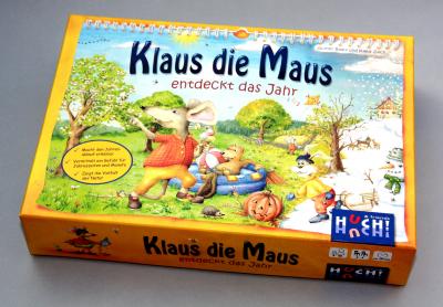 Klaus die Maus entdeckt das Jahr