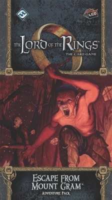 The Lord of the Rings: The Card Game – Escape from Mount Gram