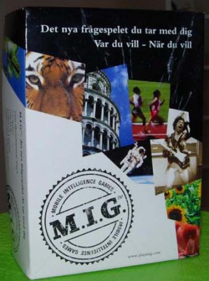 M.I.G. (Mobile Intelligence Games)