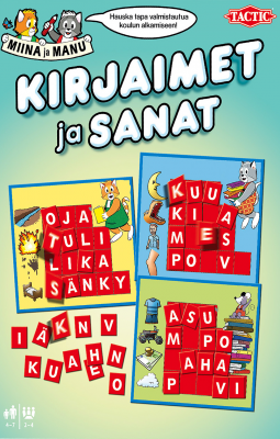 Ampparin Eskari Kirjaimet ja sanat
