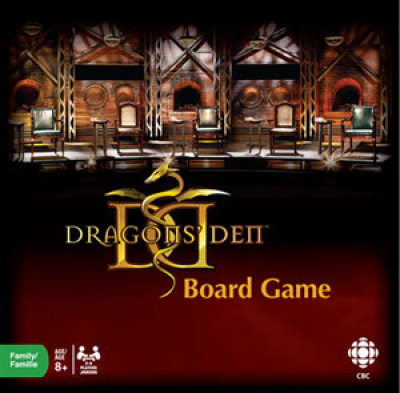 Dragon's Den Board Game