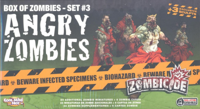 Zombicide Box of Zombies Set #3: Angry Zombies