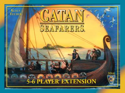De Zeevaarders van Catan: Uitbreidingsset 5 of 6 spelers
