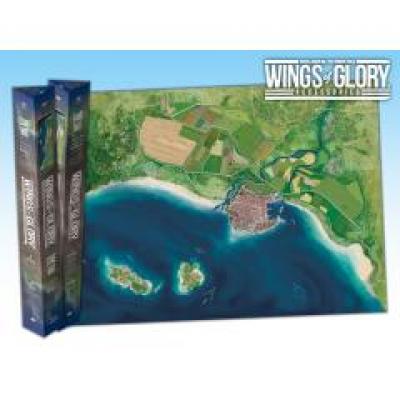 Wings of Glory: Game Mat - Coast