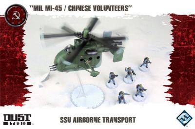 """Dust Tactics: SSU Airborne Transport - """"MIL MI-45 / Chinese Volunteers"""""""