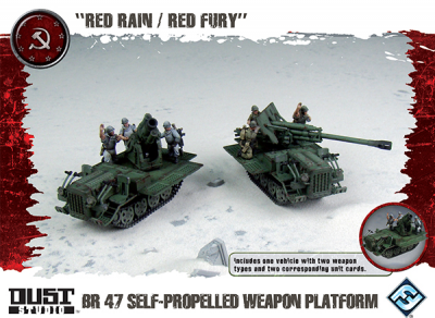 "Dust Tactics: SSU BR-47 Self-Propelled Weapon Platform - ""Red Rain / Red Fury"""