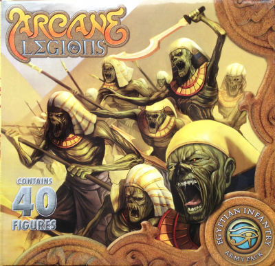 Arcane Legions: Egyptian Army Pack - Infantry