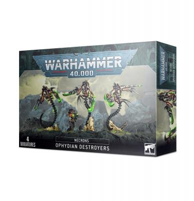 Warhammer 40,000: Necrons - Ophydian Destroyers