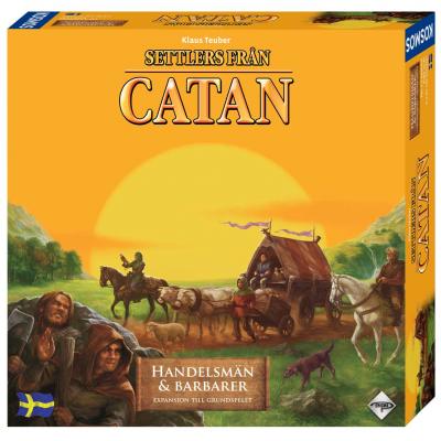 Settlers från Catan: Handelsmän & Barbarer