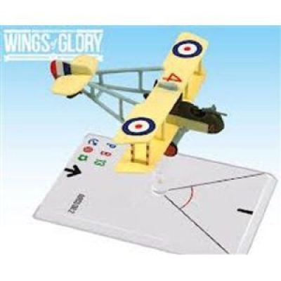 Wings of Glory: WW1 Airplane Pack - Airco DH.2 (Saundby)