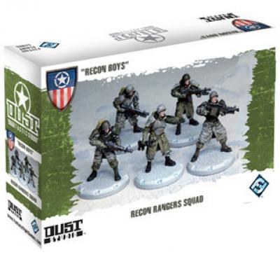"Dust Tactics: Recon Rangers Squad - ""Recon Boys"""