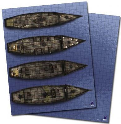 GameMastery Flip-Mat: Ship