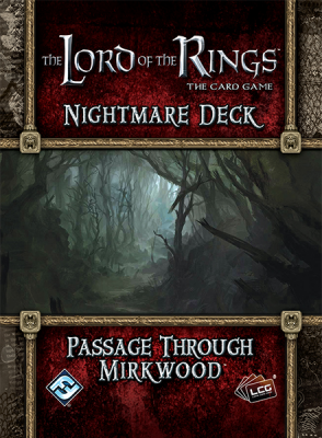 The Lord of the Rings: The Card Game - Nightmare Deck: Passage Through Mirkwood