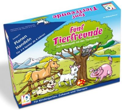 Fünf Tierfreunde