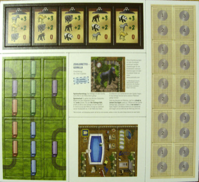 Zooloretto - Rio Grande Games Expansion Pack #2