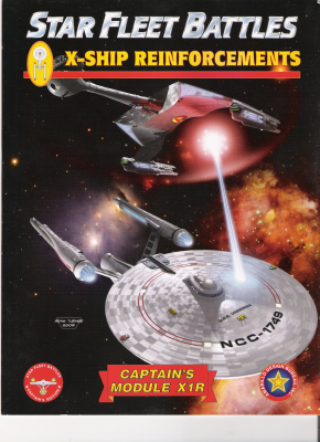 Star Fleet Battles: Module X1R – X-Ship Reinforcements