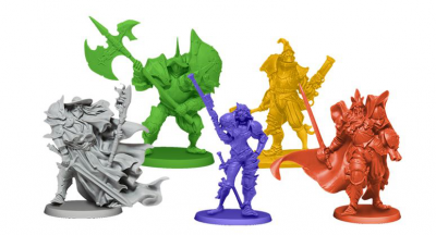 Rum & Bones: Iron Inquisition Heroes Set #1