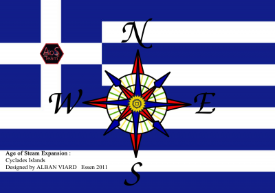 Age of Steam Expansion: Greece and Cyclades