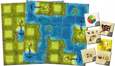 Amerigo Queenie 2: Cove Island, Bay Island & New Progress Tokens