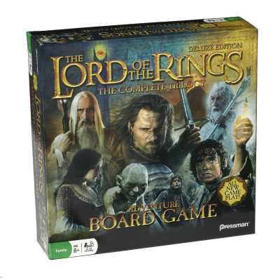 The Lord of the Rings: The Complete Trilogy – Adventure Board Game