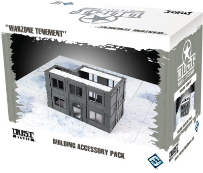 "Dust Tactics: Building Accessory Pack - ""Warzone Tenement"""