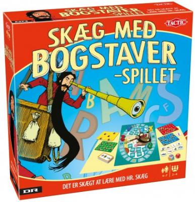 Skæg med bogstaver - spillet