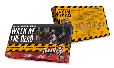 Zombicide Box of Zombies Set #1: Walk of the Dead
