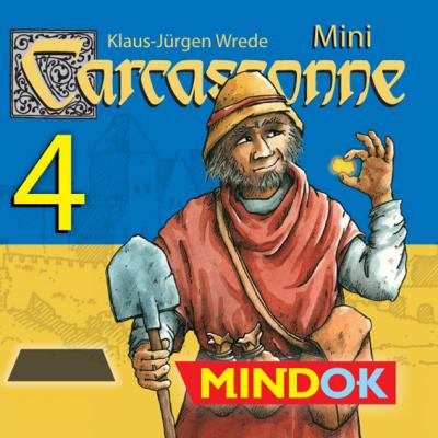 Carcassonne: Guldbarrer/Guldgruvor