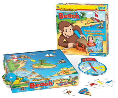 Curious George: Discovery Beach Game