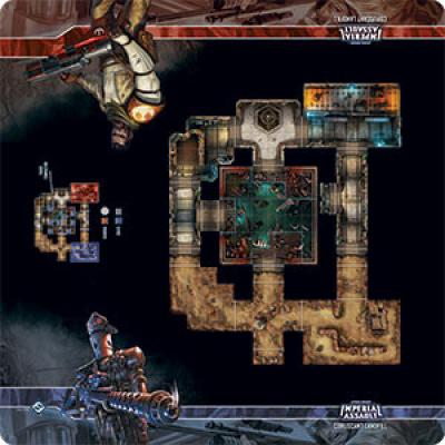 Star Wars: Imperial Assault Skirmish Maps - Coruscant Landfill