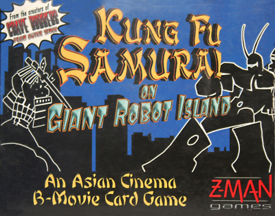 Kung Fu Samurai on Giant Robot Island
