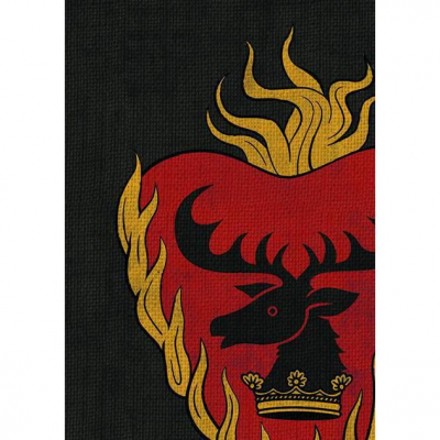 A Game of Thrones: The Card Game - House Stannis Baratheon Art Sleeves (50)