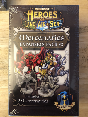 Heroes of Land, Air & Sea: Mercenaries Expansion Pack #2