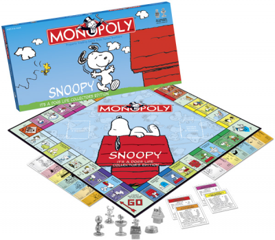 Monopoly: Snoopy It's A Dog's Life