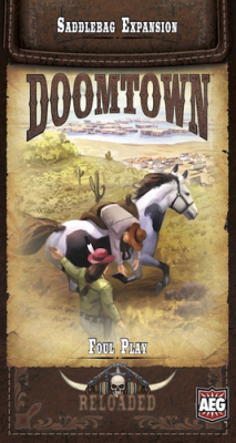 Doomtown: Reloaded - Foul Play Saddlebag