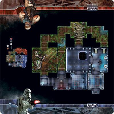 Star Wars: Imperial Assault Skirmish Maps - Training Ground
