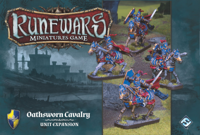 Runewars Miniatures Game: Oathsworn Cavalry – Unit Expansion