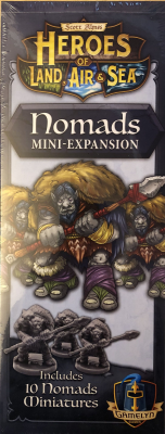 Heroes of Land, Air & Sea: Nomads Mini-Expansion