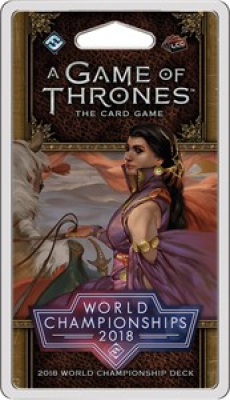 A Game Of Thrones: The Card Game - 2018 World Championship Deck