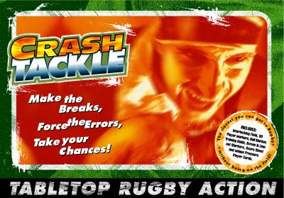 Crash Tackle Rugby Board Game