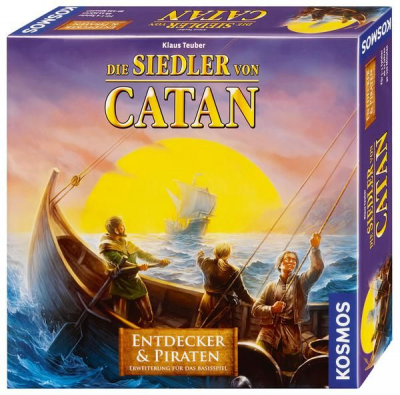 Die Siedler von Catan: Entdecker & Piraten