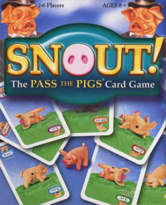 Snout! The Pass The Pigs Card Game