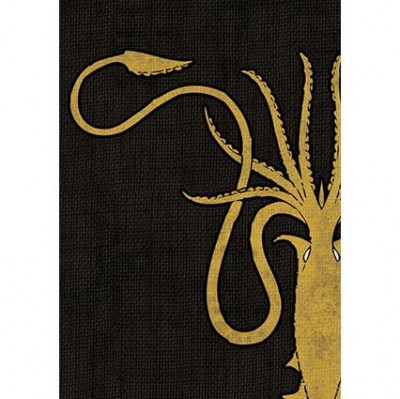 A Game of Thrones: The Card Game - House Greyjoy Art Sleeves (50)