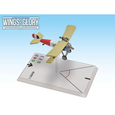 Wings of Glory: WW1 Airplane Pack - Nieuport 11 (De Turenne)