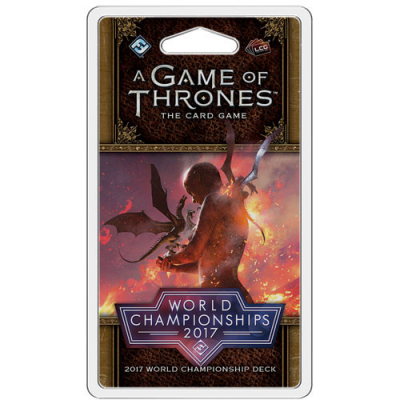 A Game Of Thrones: The Card Game - 2017 World Championship Deck