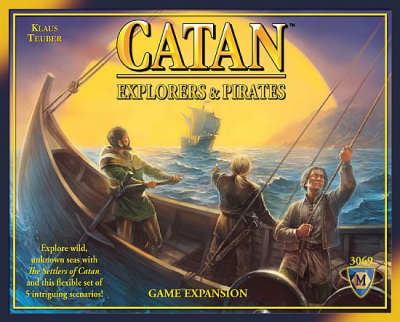 Settlers of Catan: Explorers and Pirates