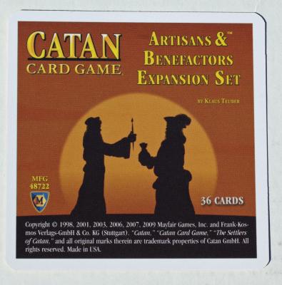 Catan Card Game: Artisans & Benefactors